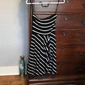 Ann Taylor strapless dress Size XXSP
